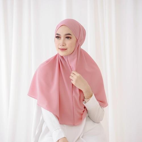 Foto Produk Jilbab Hijab Kerudung Khimar Syari Bergo Tali Instan Termurah dari hijabafwa