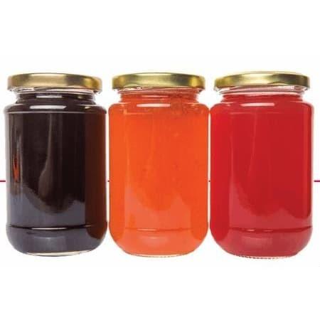 Foto Produk Botol Jar Toples Kaca : 330ml Bulat, penutup SENG dari Beautiful Rainbow Shop