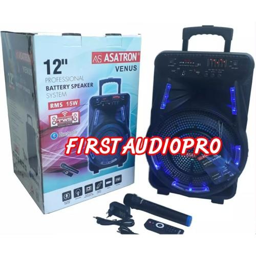 Foto Produk ASATRON Speaker Portable VENUS HT 8880 UKM 12inch dari First Audio Pro