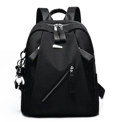 Foto Produk Backpack Micro Diagonal Tas Ransel Wanita Tas Gendong Cewe Murah - Hitam dari SUPERSTORE1