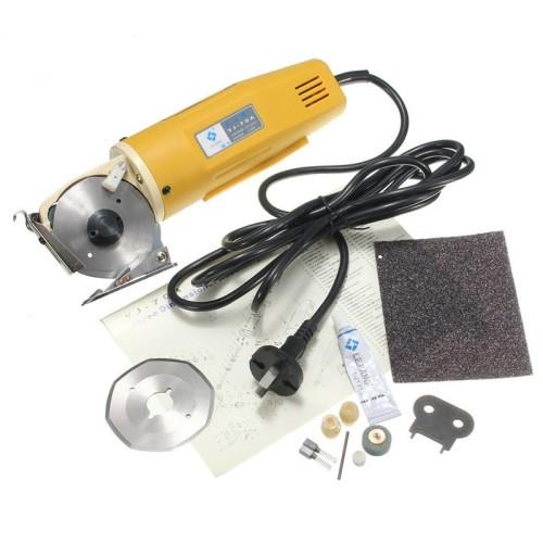 Foto Produk Mesin Gunting Elektrik Pemotong Kain 70mm 110V/220V dari Fixbeli