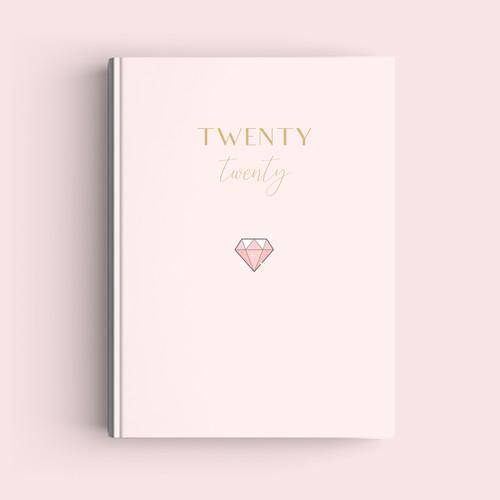 Foto Produk Simple Notebook A5 - Diamond - Journal 2020 | Planner - Bookpaper Polos dari The Book ID
