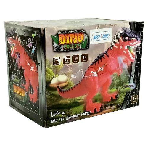 Foto Produk Mainan Anak Robot Dino Valley Dinosaur T-Rex Bertelur Dinosaurus NY018 dari Toko DnD