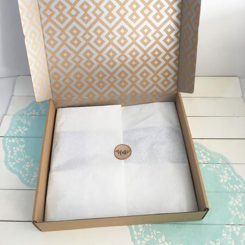 Foto Produk Wrapping Paper (50 lembar) | kertas tissue | bungkus kado | polos | dari Yello!