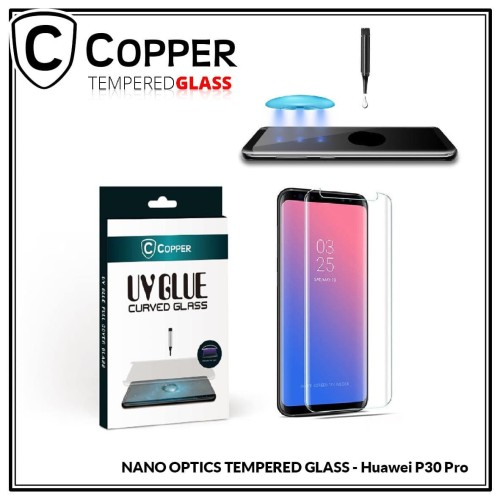 Foto Produk Huawei P30 Pro - COPPER Nano UV Glue Tempered Glass dari Copper Indonesia