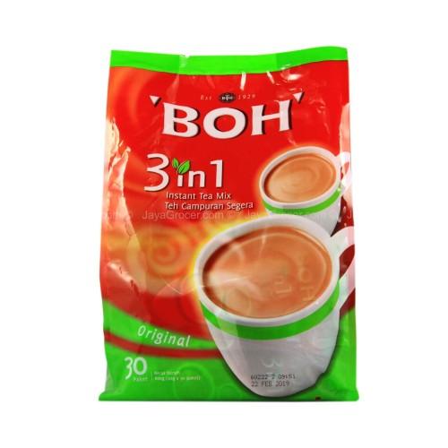 Foto Produk BOH 3 IN 1 INSTANT TEA MIX ORIGINAL TEH TARIK MALAYSIA dari SS_shoppingSnack