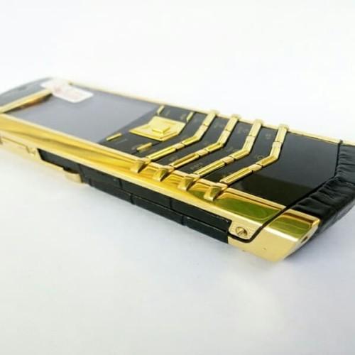 Foto Produk vertu signature s bukan original quality luxury phone hp jadul mewah dari Outdoor Kingz