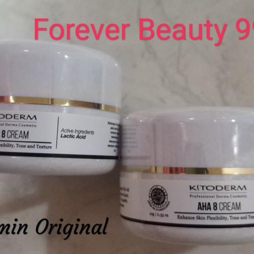 Foto Produk Kitoderm AHA 8 cream - krim malam pencerah wajah & anti aging BPOM dari Forever Beauty 99