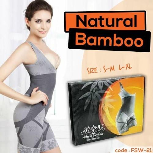 Foto Produk NATURAL BAMBOO Slimming Suit ~ Pelangsing Multi Fungsi - SIZE L-XL dari Rumah Cantik Sandy