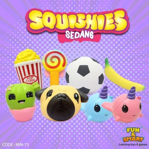 Foto Produk Mainan Anak Squishy Sedang Replika Lucu - MIN-73 dari Fortunate