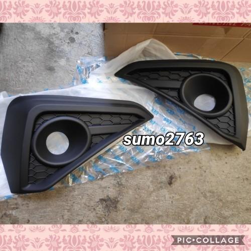 Foto Produk cover/garnish fog lamp model TRD untuk all new rush terios 2018 hitam dari sumo2763