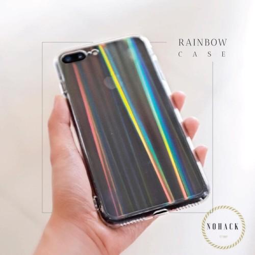 Foto Produk Rainbow aurora case oppo iphone 5 5S SE 6 6S 7 8 + Plus X XS max ombre dari Caseayangan ID