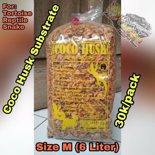 Foto Produk Cocohusk substrate Reptile Tortoise Ular Coco Husk Alas Kandang Reptil dari MYDragon