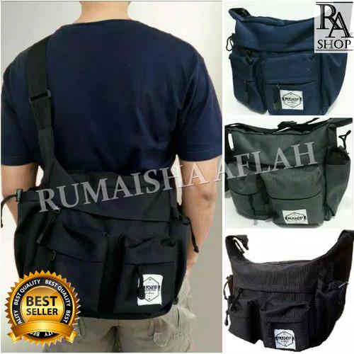 Foto Produk Tas Selempang Pria Casual / Clothing Sekolah Kuliah Original Pushop dari Rumaisha Aflah