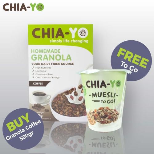 Foto Produk Granoal Coffee 500gr (Free To Go) dari Chia-Yo