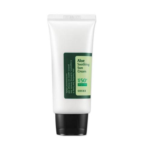 Foto Produk COSRX Aloe Soothing Suncream SPF 50 PA+++ Sun Cream SPF50+ PA+++ 50ml dari KUMO_STORE