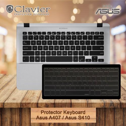 Foto Produk Keyboard Protector Cover Asus Vivobook A407 A407M A407U S410 S410U Coo dari Clavier