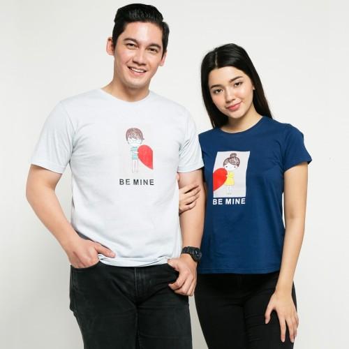 Foto Produk SEYES x Samuel Zylgwyn T-shirt Kaos Couple S32011063 Whiite Navy dari Seyes