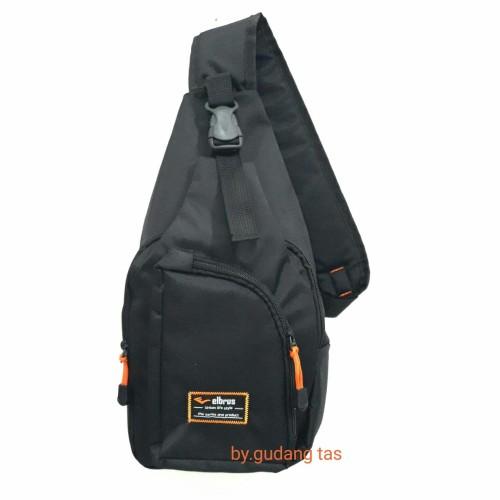 Foto Produk fashion pria slingbag-tas slempang - Hitam dari gudang tas 1000