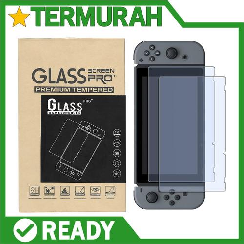 Foto Produk Tempered Glass Screen Protector Nintendo Switch - VERSI 1 pertama dari Kastil Drakula