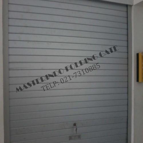 Foto Produk Rolling Door Galvalum atau Alumunium dari masterindo folding gate