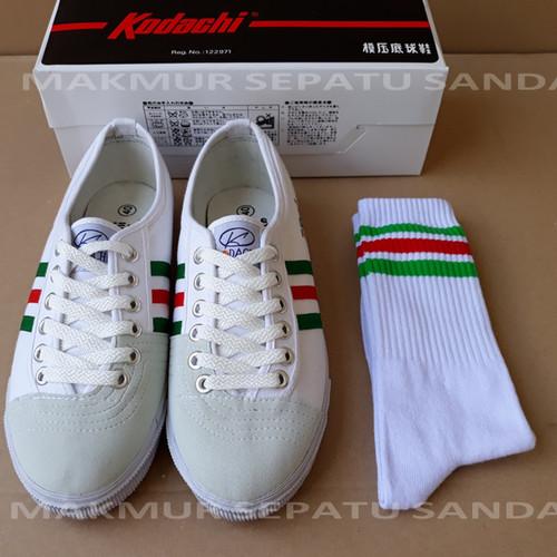 Foto Produk Sepatu Capung - Kodachi 8111 - Rainbow 3 + Kaos Kaki dari Makmur Sepatu Sandal
