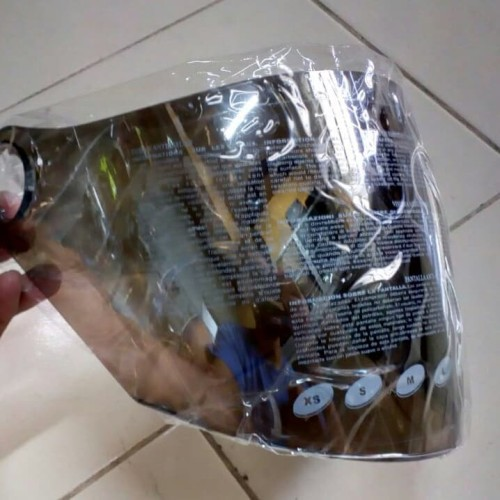 Foto Produk Visor silver Zeus Z610 / kaca helm dari TOKO HELM ZEUS