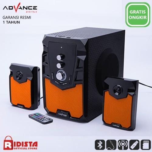 Foto Produk Advance M310BT PLUS Speaker Bluetooth Aktif 2.1 Subwoofer BASS dari Ridista Official Store