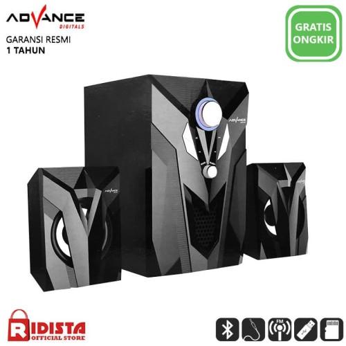 Foto Produk Speaker Advance Aktif Portable M10BT Bluetooth Subwoofer BASS -T403 dari Ridista Official Store