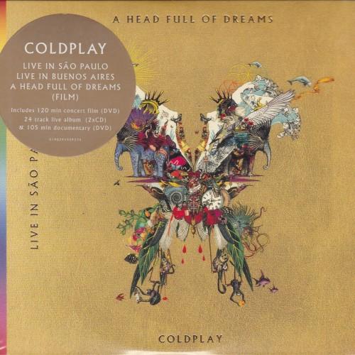 Foto Produk Coldplay Live in Buenos Aires / Live In Sao Paulo CD DVD dari web komputindo