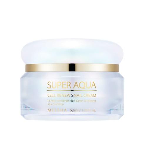 Foto Produk Missha Super Aqua Cell Renew Snail Cream - Krim wajah dari Missha Indonesia