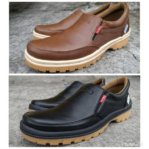 Foto Produk Kickers sepatu casual kulit asli pria keren dari rif&lif store
