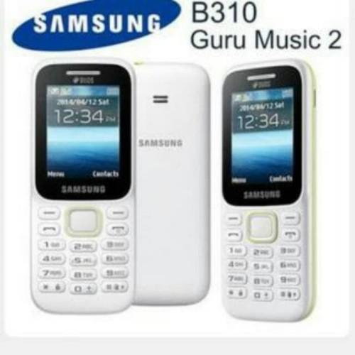 Foto Produk SAMSUNG Piton B310 Guru Music 2 Dual SIM hp murah handphone dari p0p cell