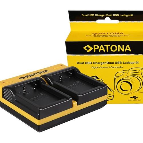 Foto Produk PATONA Charger for Fujifilm NP-W126S, NP-W126, NPW126 NPW126S XA XE XT dari Wasabi Power Indonesia