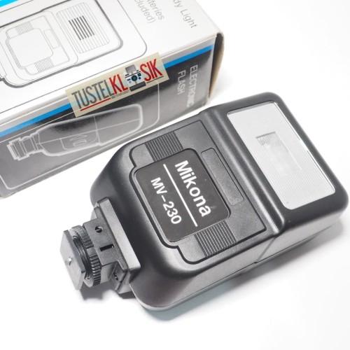 Foto Produk Flash Mikona MV230 for Fujica m1 Daichii m35 prima 35 SLR Rangefinder dari Ninetyfour.Gadget Tustelklasik