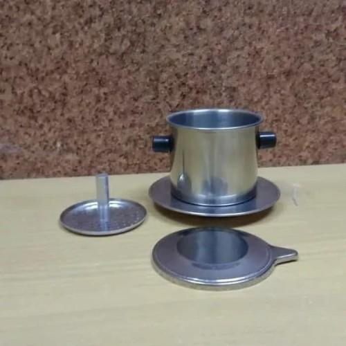 Foto Produk Classic Vietnam Drip Skrup Klasik Coffee Maker Alat Kopi Vietnam dari booksnovels by emily