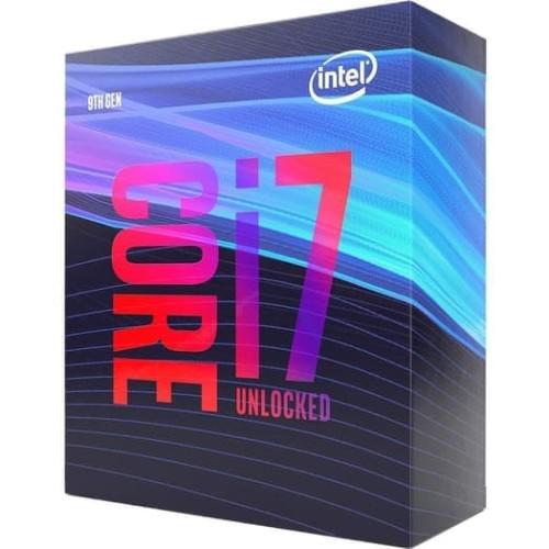 Foto Produk Intel Core i7 9700K Coffee Lake 8-Core 3.6 GHz up to 4.9 GHz - LGA1151 dari t_pedia pc