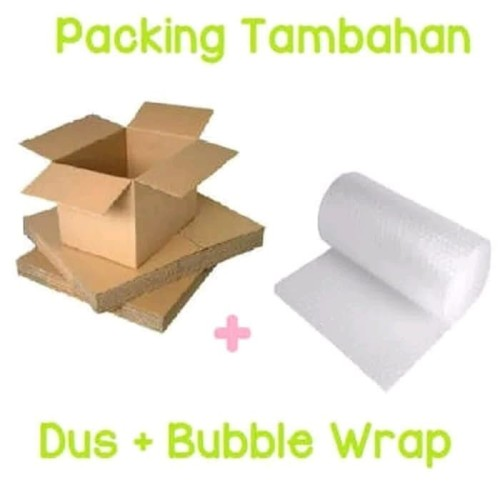 Foto Produk BOX KARDUS PACKING TEMPERED GLASS DUS + BUBBLE WRAP TAMBAHAN dari Original Shop Nillkin