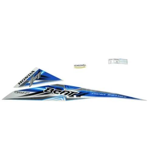Foto Produk Stiker Kiri Putih Biru - BeAT Sporty eSP (K25) 871X0K25630ZCL dari Honda Cengkareng
