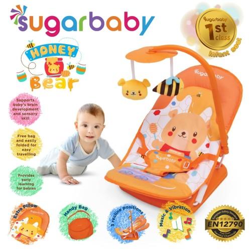Foto Produk Bouncer Infant Seat Sugar Baby - Biru dari Rain Baby Shop