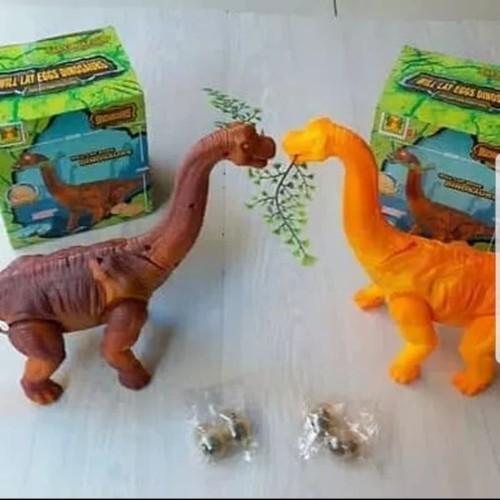 Foto Produk Mainan dinosaurus bertelur dino trex dino saurus murah kado hadiah dari aneka barang murah 2