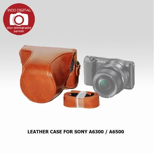 Foto Produk LEATHER CASE FOR SONY A6300 / A6500 dari Indo Digital Nusantara
