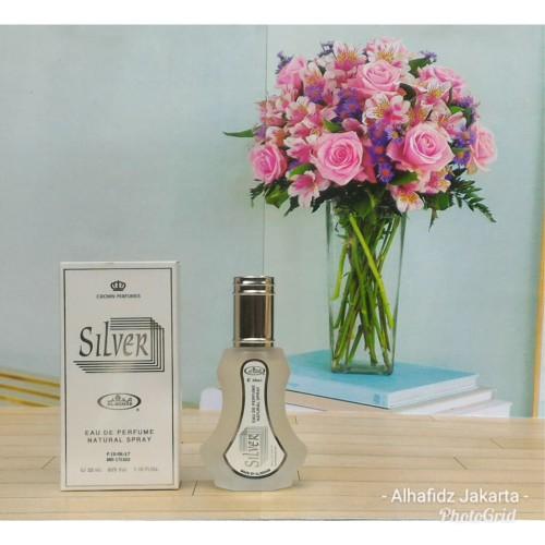 Foto Produk Parfum Al Rehab Spray Silver 35ml Original dari alhafidz jakarta