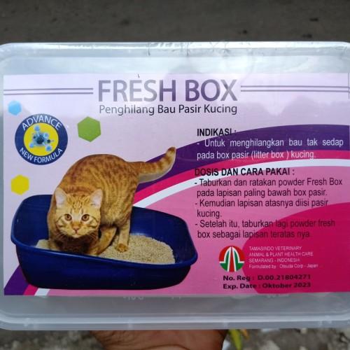 Foto Produk Fresh Box - Penghilang Bau Pasir Kucing Anjing Bak Pasir Anjing Baskom dari Toko DS