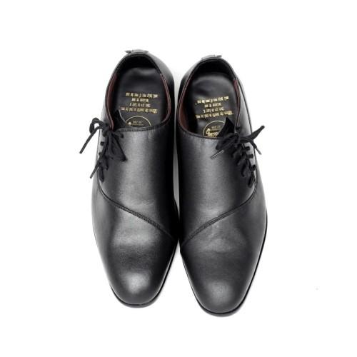 Foto Produk Sepatu Casual Formal Pria Big Size Kulit Asli Cevany Megan Original - Hitam, 39 dari Sepatu Murmer