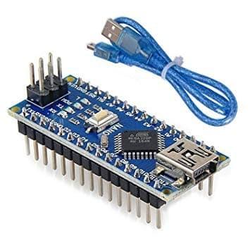 Foto Produk Arduino Nano V3.0 ATmega328 Driver CH340 USB Cable - tanpa kabel dari mulia-electric