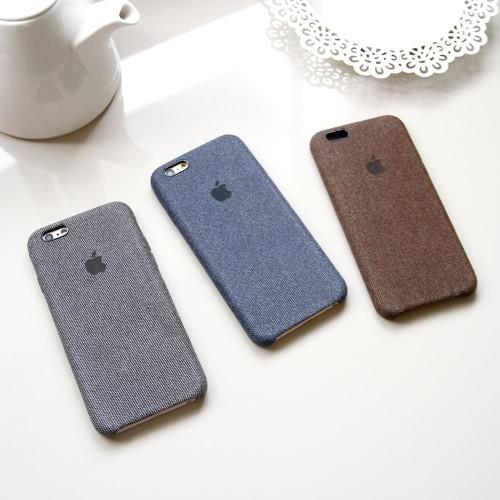Foto Produk Hard Case iPhone 6/6s/6Plus/7Plus/X/XS/XsMax JEANS CASE dari Paroparoshop