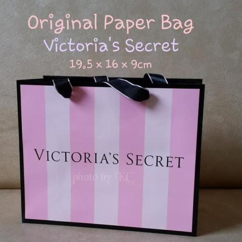 Foto Produk PROMO GAEESS ORIGINAL PAPER BAG VICTORIA'S SECRET UKURAN KECIL dari Sri Suprindah shop