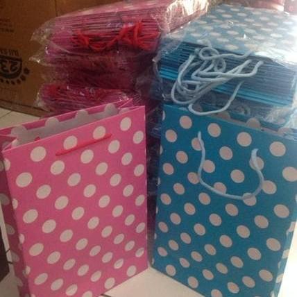 Foto Produk PROMO GAEESS PAPER BAG POLKADOT SOUVENIR TERBAIK dari Sri Suprindah shop