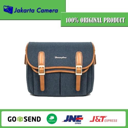 Foto Produk Tas Kamera Herringbone Maniere Medium Camera Bag - Navy dari JakartaCamera